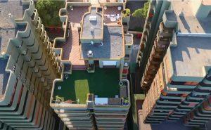 Edificios de comunidades de Playa de Aro