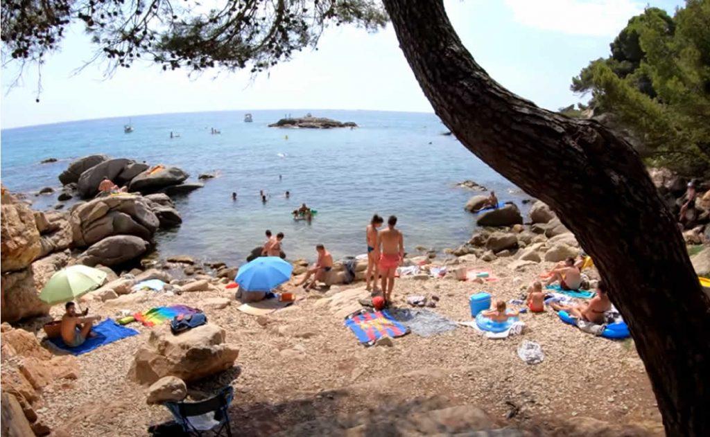 Playa en Costa Brava