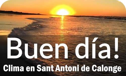 El clima en Sant Antoni de Calonge