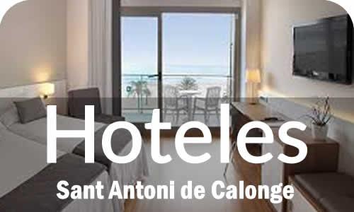 Hoteles en Sant Antoni de Calonge Costa Brava