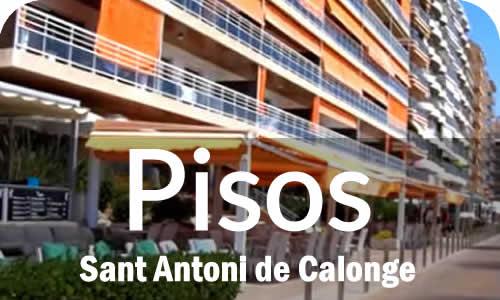 Pisos y Apartamentos en Sant Antoni de Calonge Costa Brava