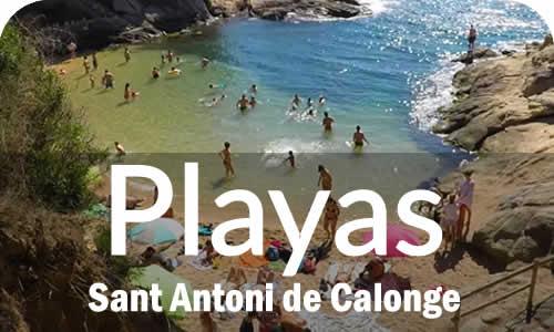 Playas de en Sant Antoni de Calonge Costa Brava