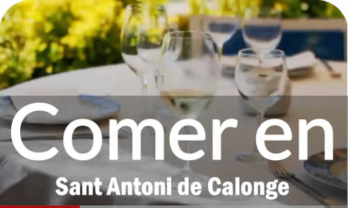 Restaurantes en Sant Antoni de Calonge Costa Brava