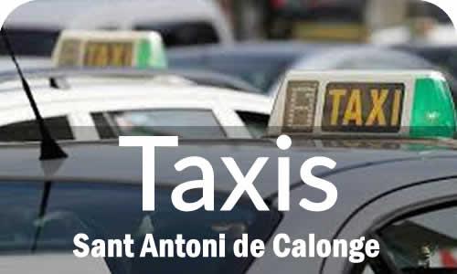 Taxis en Sant Antoni de Calonge Costa Brava